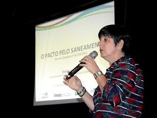 Sheila Valle, superintendente da Secretaria de Estado do Ambiente, fala sobre as formas pelas quais a cidade pode conseguir recursos para a implementação das ações