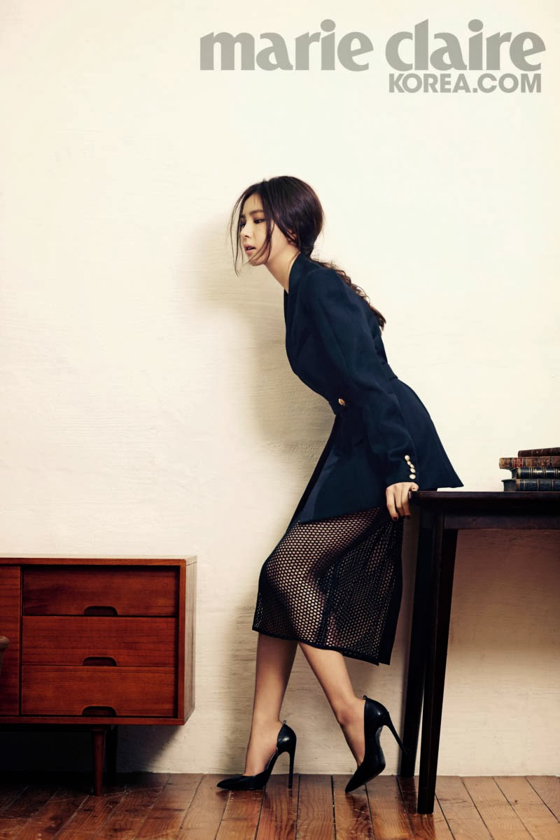 Shin Se Kyung - Marie Claire Magazine March Issue 2014