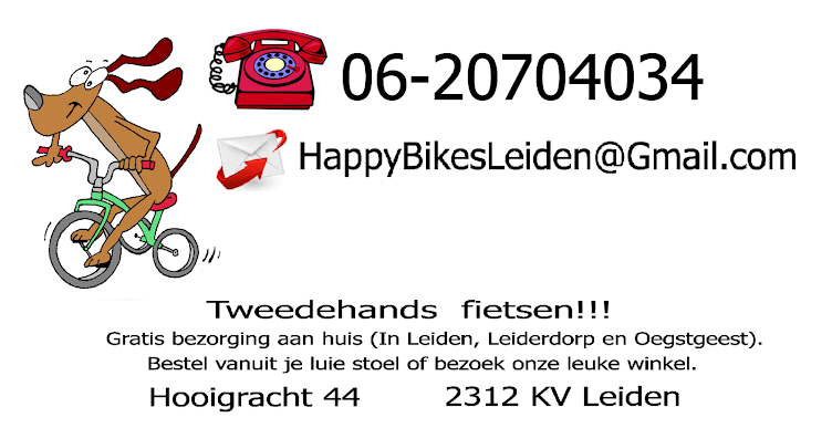 HappyBikesLeiden second hand bicycles/tweedehands fietsen in Leiden