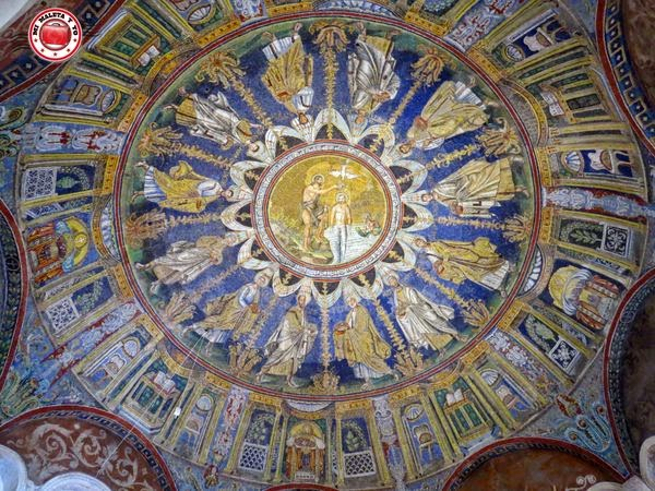 Rávena - Baptisterio de Neón