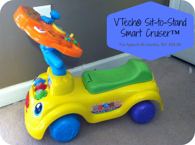 VTech® Sit-to-Stand Smart Cruiser™ Review