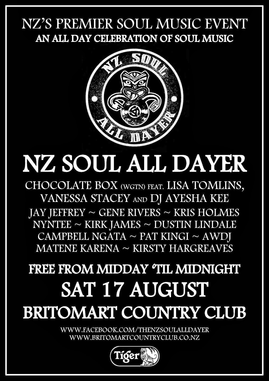 NZ Soul All Dayer #2