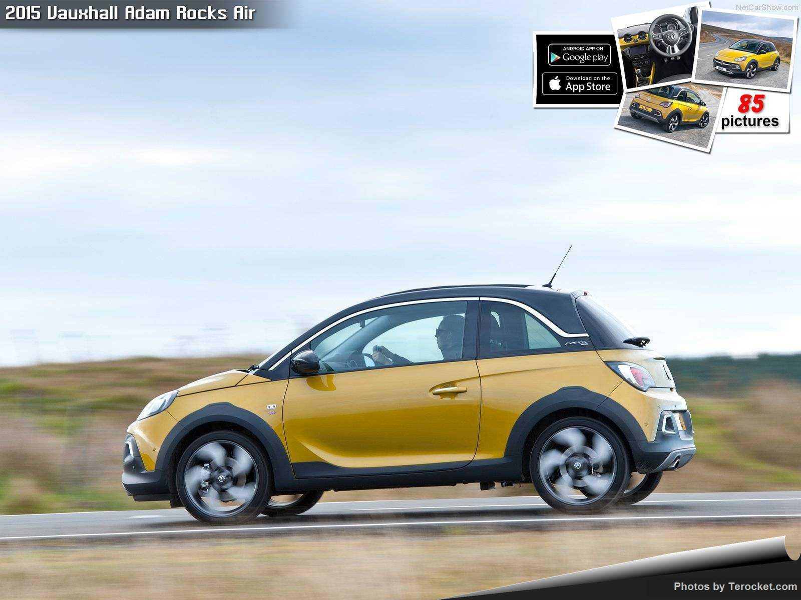 Hình ảnh xe ô tô Vauxhall Adam Rocks Air 2015 & nội ngoại thất