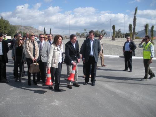 Flores: 'La duplicación de la carretera Elda-CV-83 se va a traducir en ahorro de tiempo y combustible'