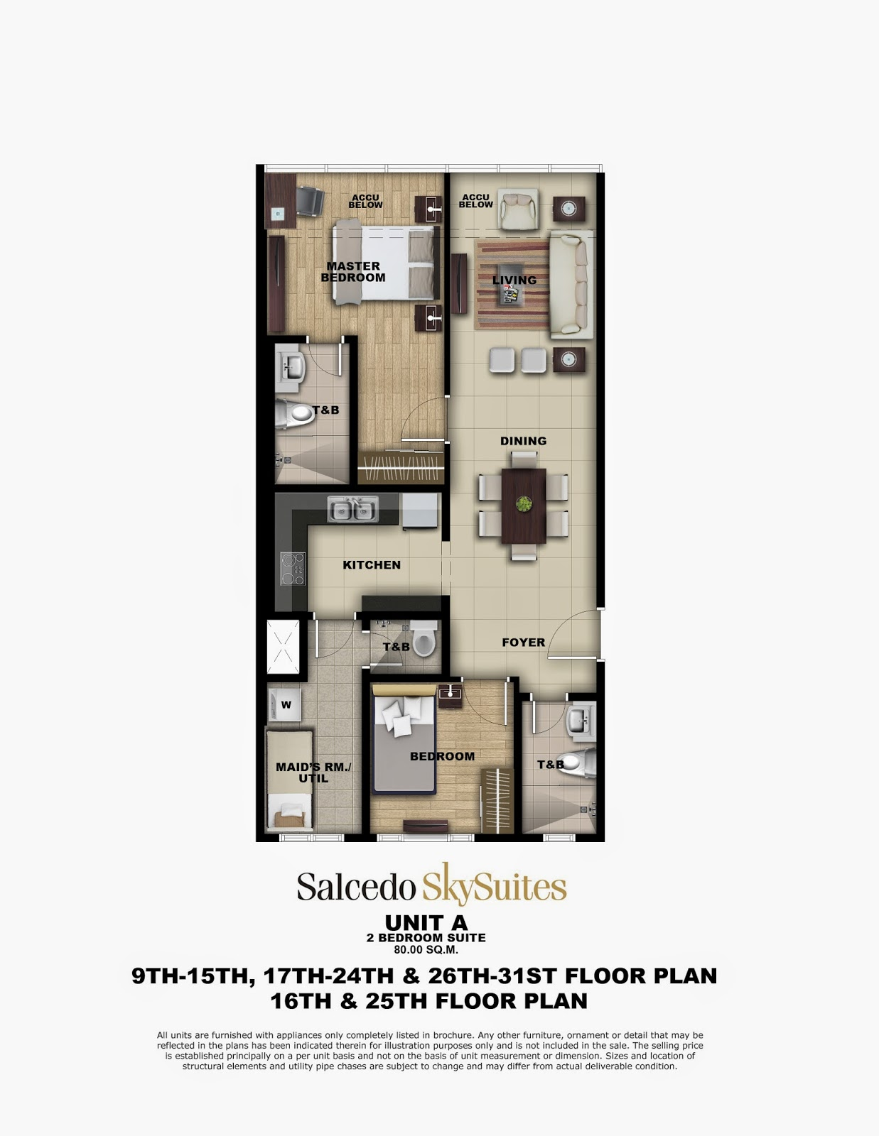 towers 2 bedroom suite