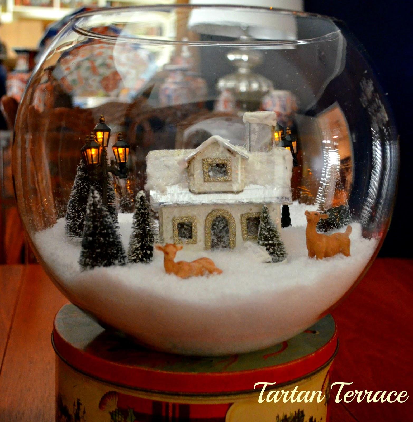 Tartanterrace Decorating For Christmas Lots Of Tartan In