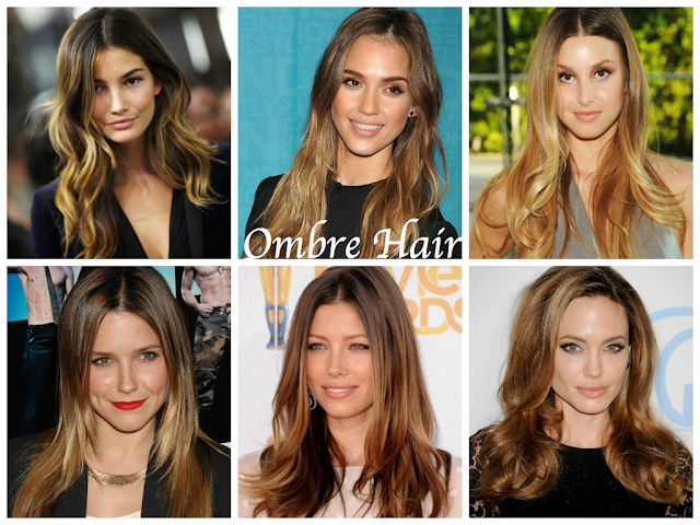 Ombre Hair: Lily aldrige, jessica alba, whitney port, sophia bush, jessica alba, angelina jolie