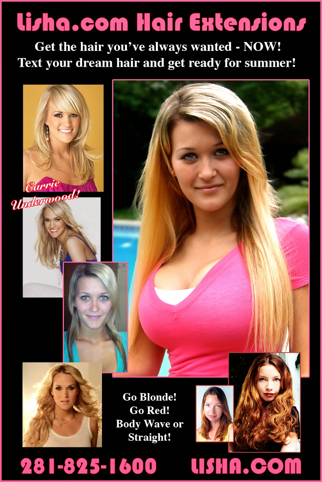 Carrie Underwood Summer Hair Extensions Hair Extensions Houston