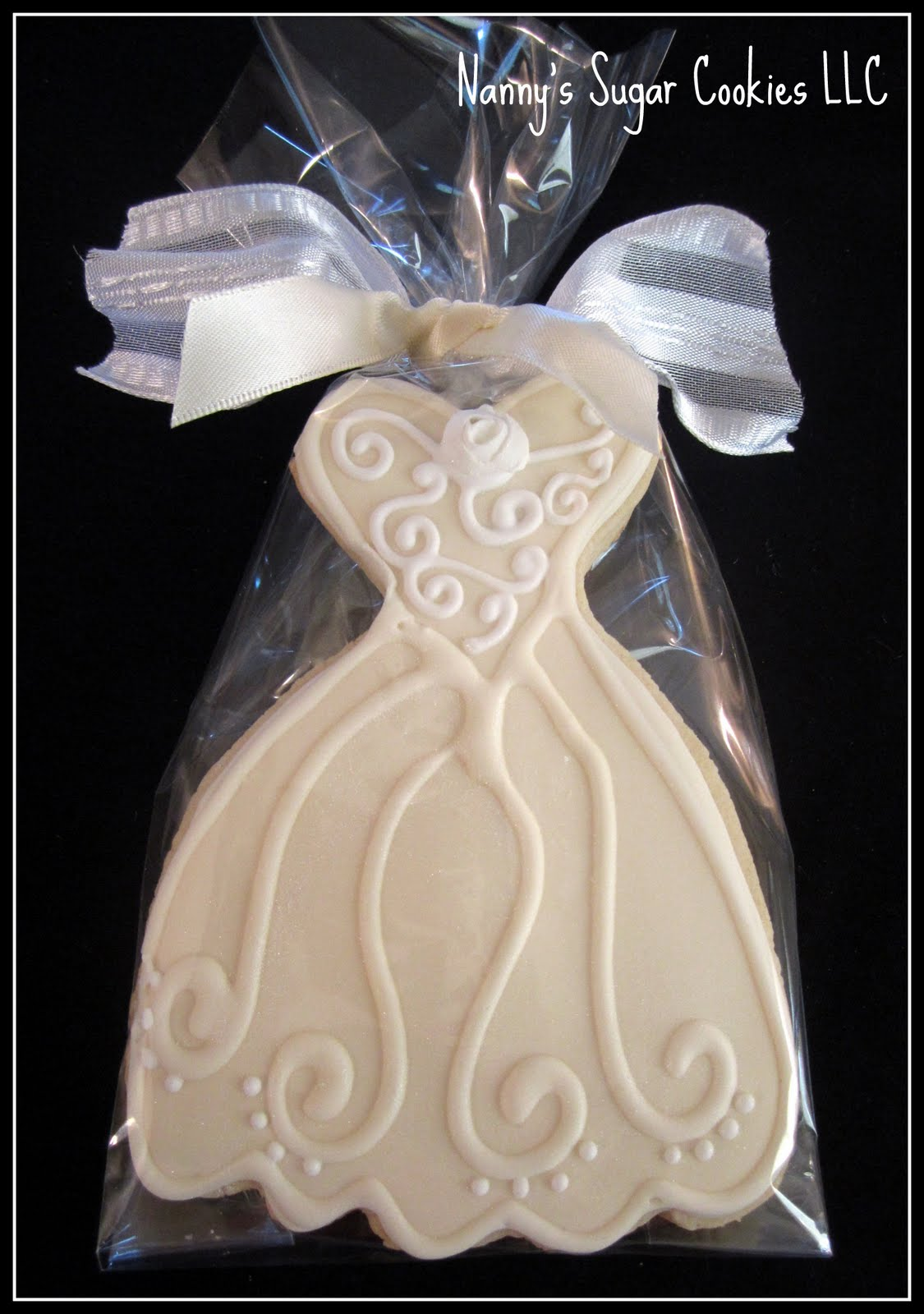Nanny\'s Sugar Cookies LLC: Wedding Cookies 2011