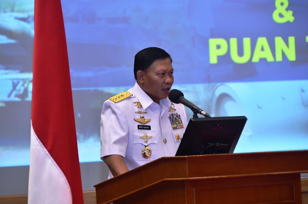 Kasum TNIHarapkan Rakernislat Tercipta Siklus Peningkatan Kemampuan TNI