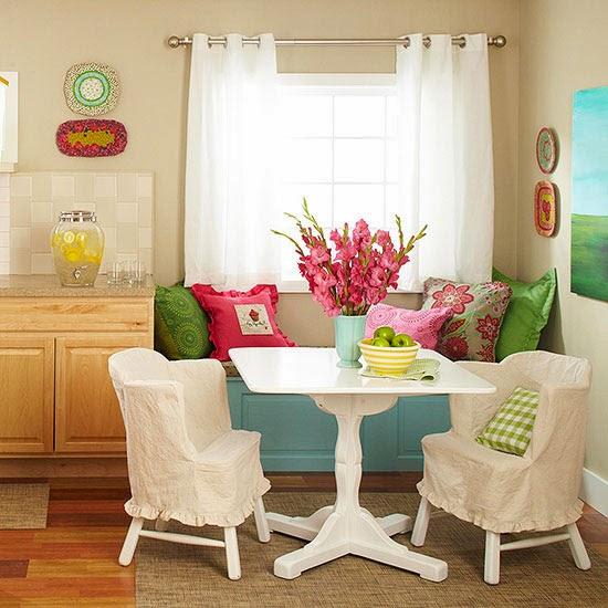 Kitchen Nook Design: 2014 Comfort Breakfast Nook Decorating Ideas