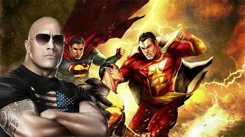 DWAYNE JOHNSON LA ROCA, BLACK ADAM