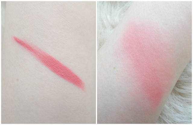 makeup revolution vivid blush lacquer desire review swatches cream liquid
