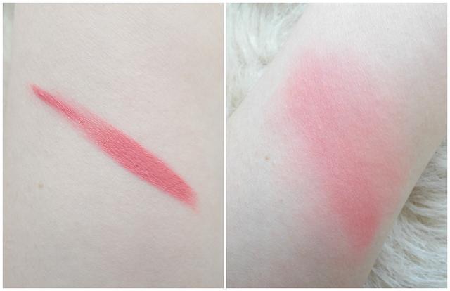 makeup revolution vivid blush lacquer desire review swatches cream liquid