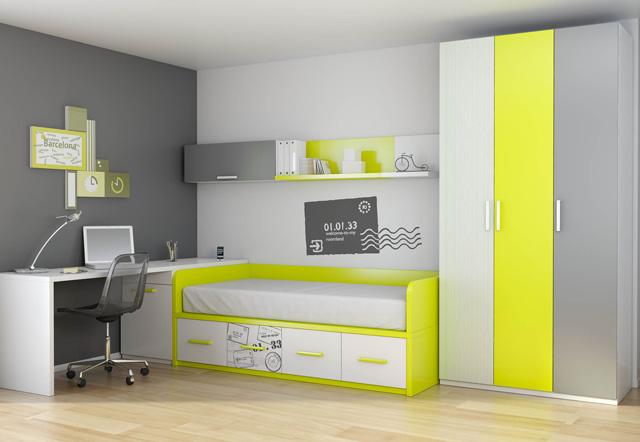 Nueva colecci n de dormitorios juveniles ideas - Dormitorios juveniles precios ...