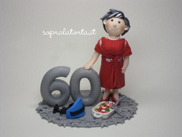 abbastanza Sopra La Torta: I 60 anni della mamma di Angela AW02