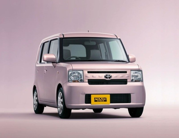 Toyota Pixis Space Launches in Japan