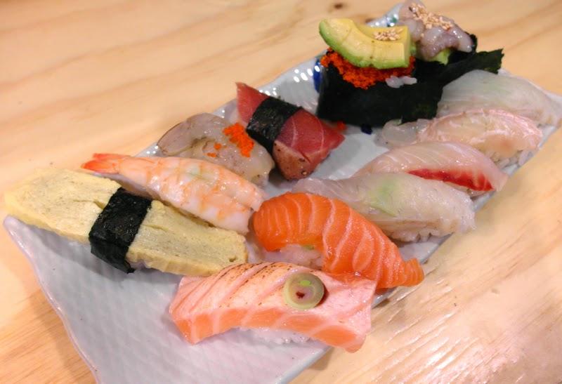 Ewha Summer Studies Hukusushi Assorted Sushi Seoul South Korea lunarrive travel blog