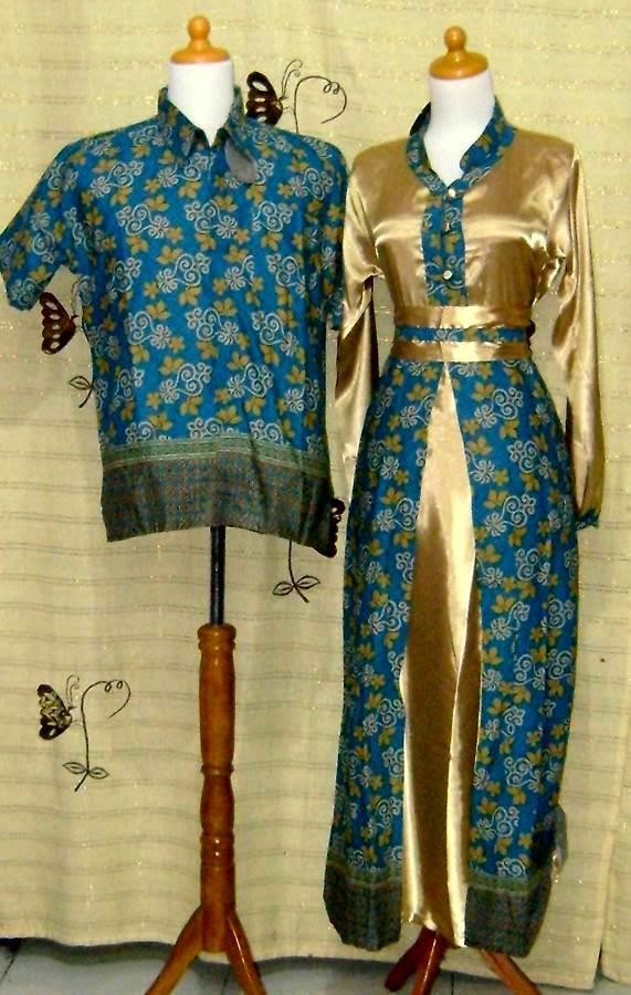model baju couple modern ibu dan anak perempuan muslim