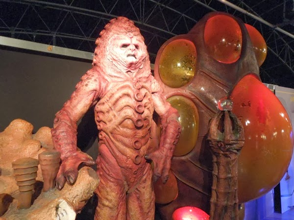 Doctor Who Zygon costume and props