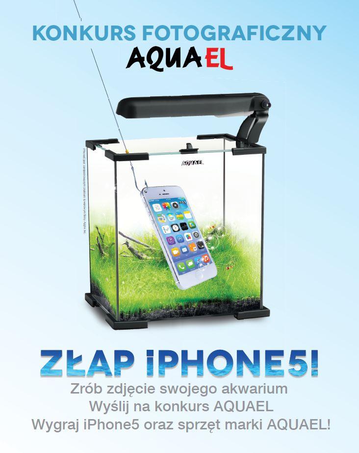 "Konkurs fotograficzny Aquael ""Złap iPhone"""