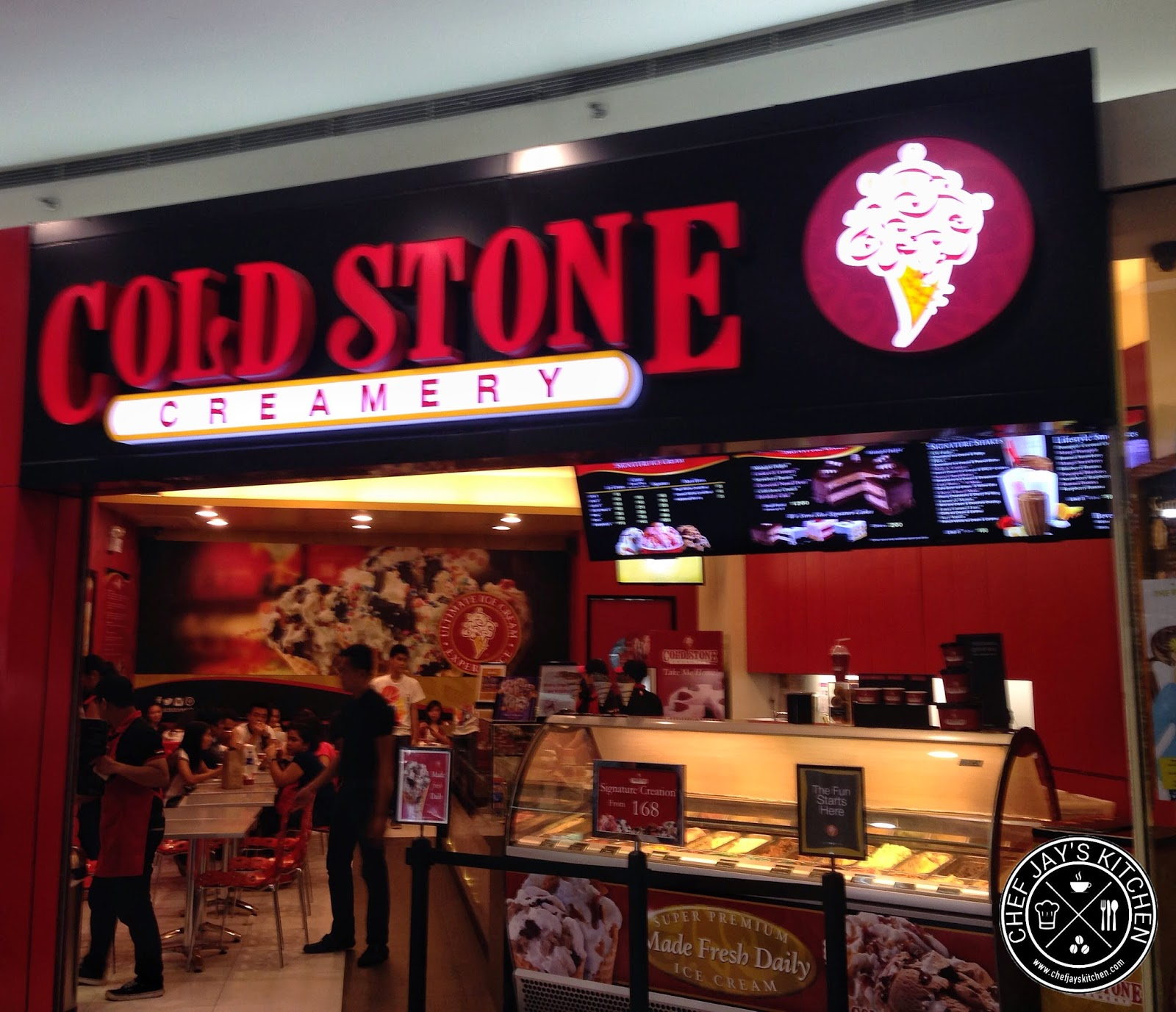 Ice Cream is Loads More Fun with Cold Stone Creamery Mall of Asia