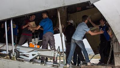 Rusia instala primer campo de refugiados en Siria