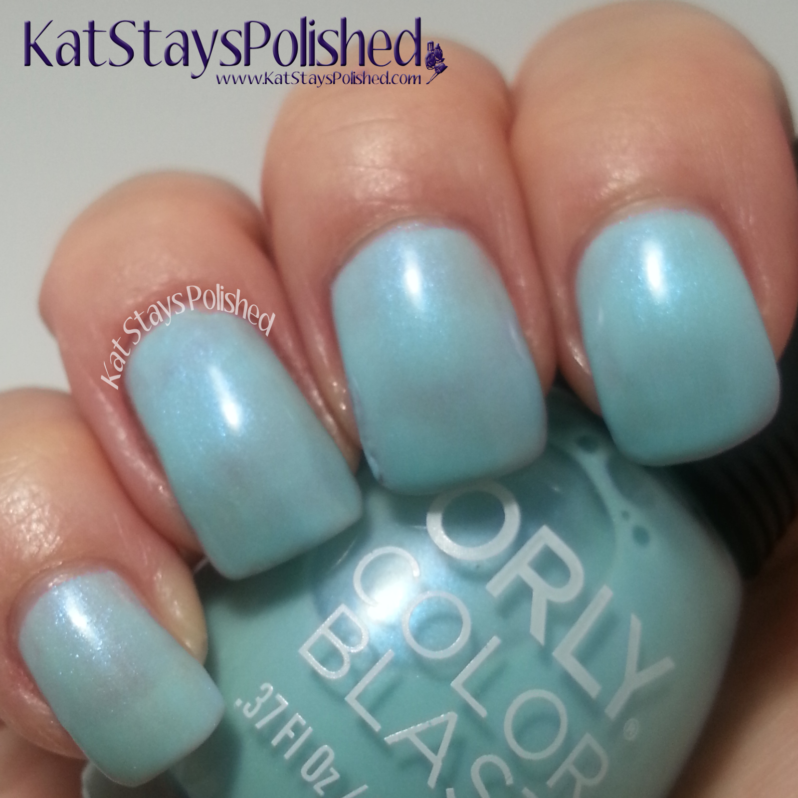 Orly Color Blast - Disney's Frozen Elsa Collection - Ice-Solated | Kat Stays Polished