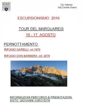 ESCURSIONISMO 2016