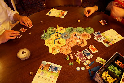 Takenoko - The game board and components