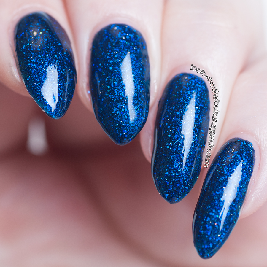 Moonstone Nail Polish Starlight nail polish swatch