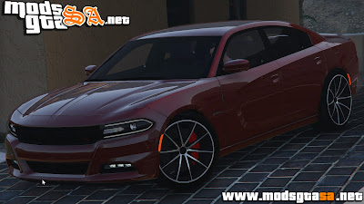 V - Dodge Charger RT 2015 para GTA V PC