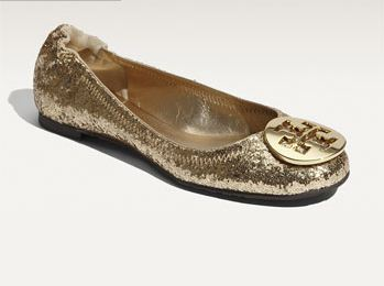 Sparkly Flat Shoes And Sandal