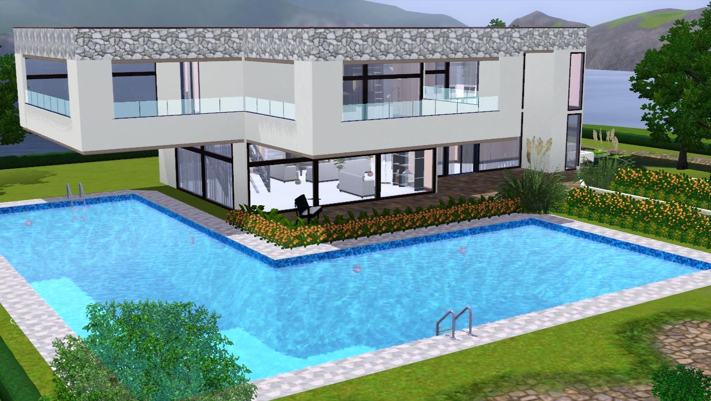 The sims giuly download e tutorial di the sims 3 casa for Case moderne e strette