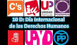 10-D: ¿Qué dicen los programas electorales de los partidos políticos sobre Derechos Humanos y Migraciones?