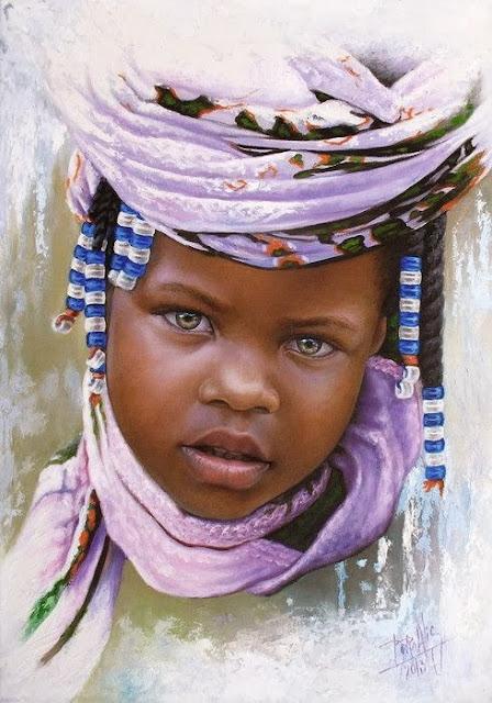 Los niños de fabiola Rostros-al-oleo-de-ni%C3%B1os-negros+(3)