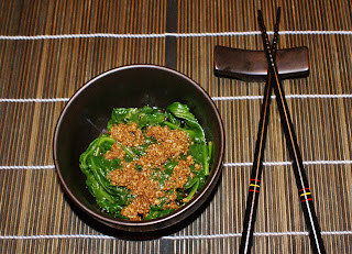 Japanese Cold Spinach Salad with Sesame Dressing (Goma-Ae)