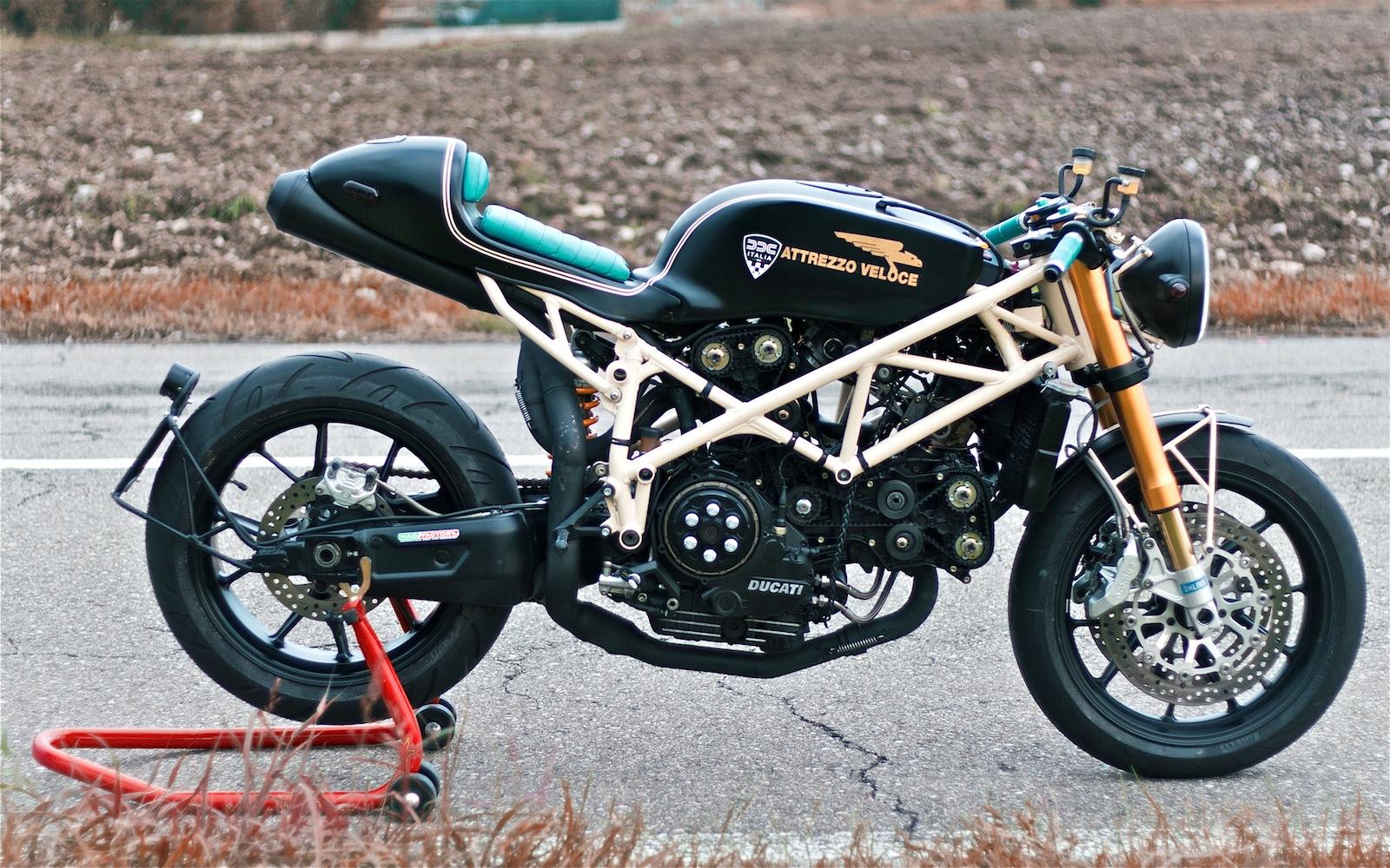 Inazuma Caf Racer Ducati 749 Fuse Box