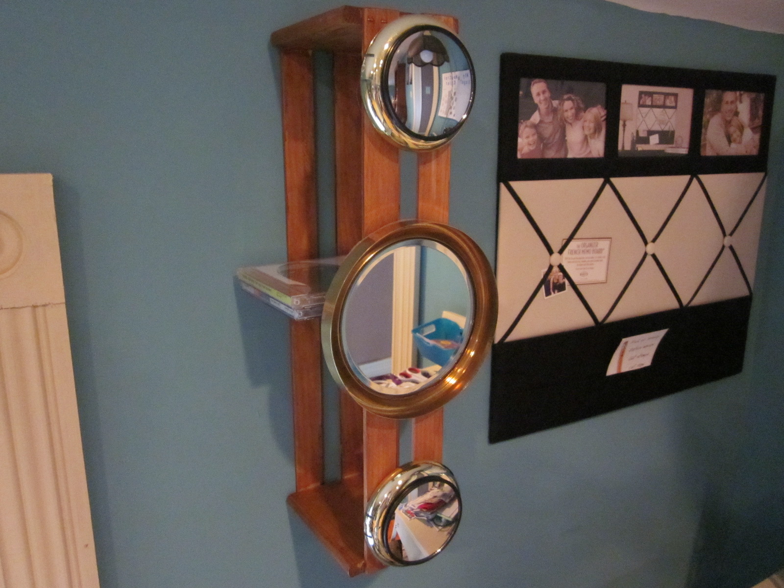 Repurposed Items Charm Them At Hello Make A Decorative Storage Rack With