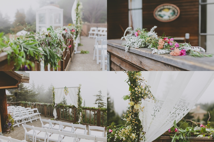 """foggy wedding in mill valley"""