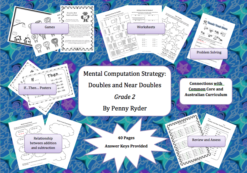 ... : Mental Computation: Adding 2-digit Doubles and Near Doubles