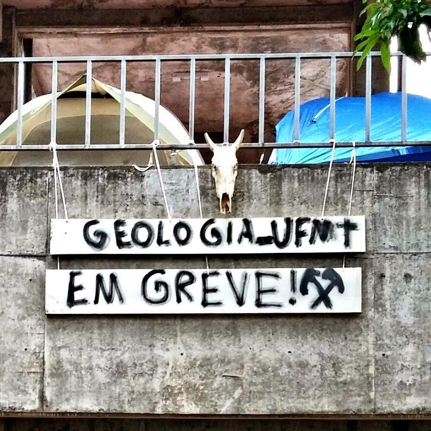 GEOLOGIA UFMT EM GREVE
