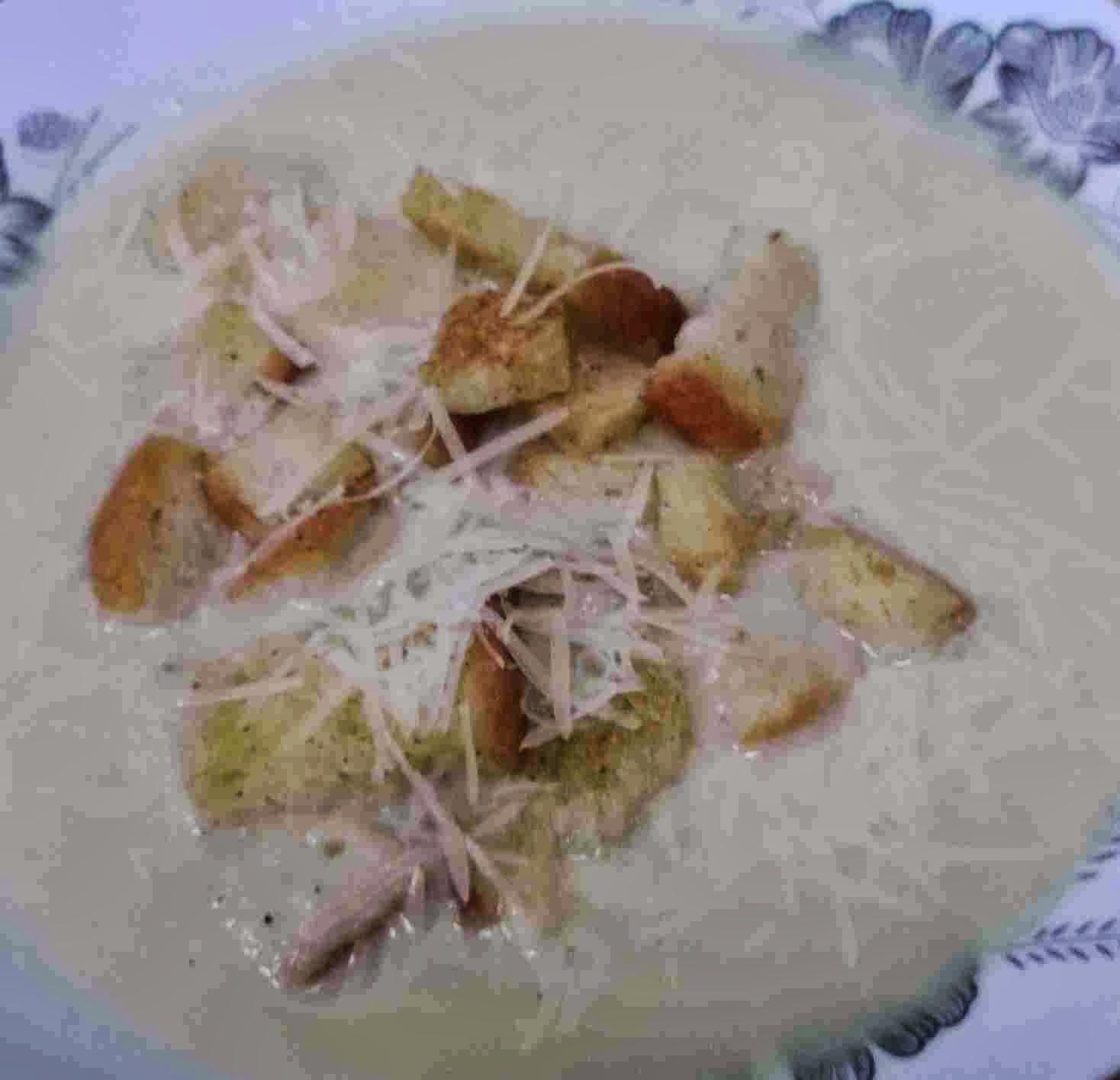 zupa i tanie grzanki