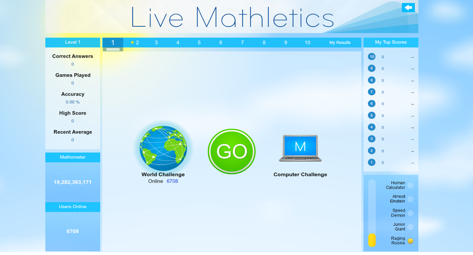 There Will Be A $5.00 Charge For Whining: A TOS Review: Mathletics
