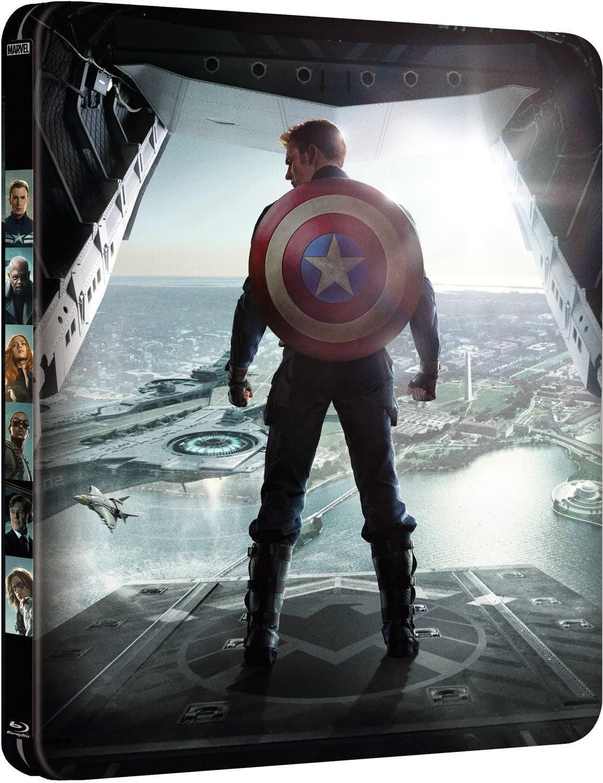 Capitán América: Blue-ray edición especial metálica