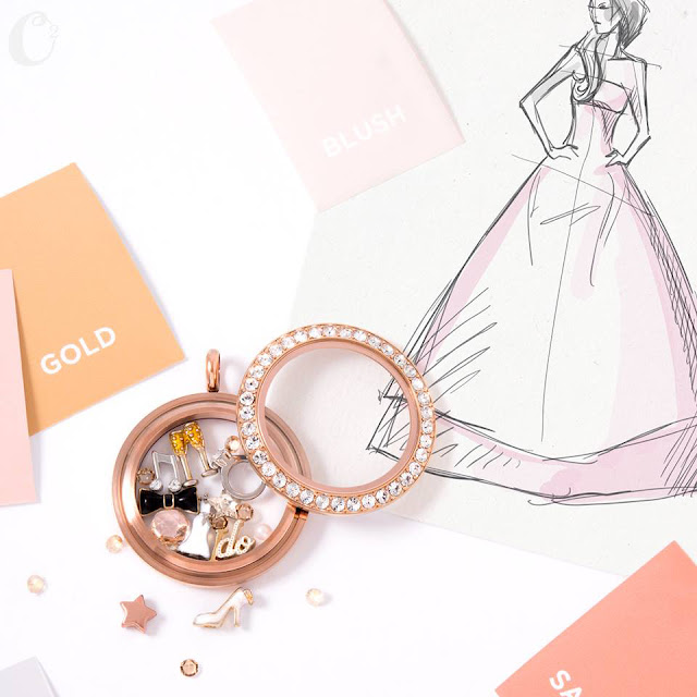 "Time to Say ""I Do"" Origami Owl Living Locket 