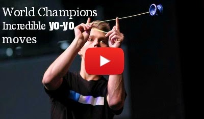 Watch World Champions incredible Yo-Yo moves that you can't even imagine via geniushowto.blogspot.com sports video
