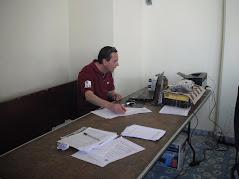 Presidente de la Asociacion de Ajedrecistas de Tlaxcala A.O. Fernando Cortina Montes