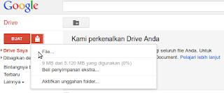 mengunggah file