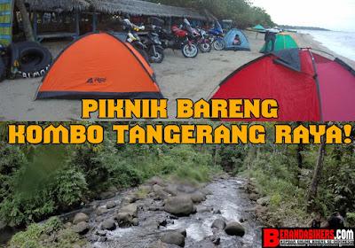 KOMBO Tangerang Raya memlilih berlibur sambil Piknik!